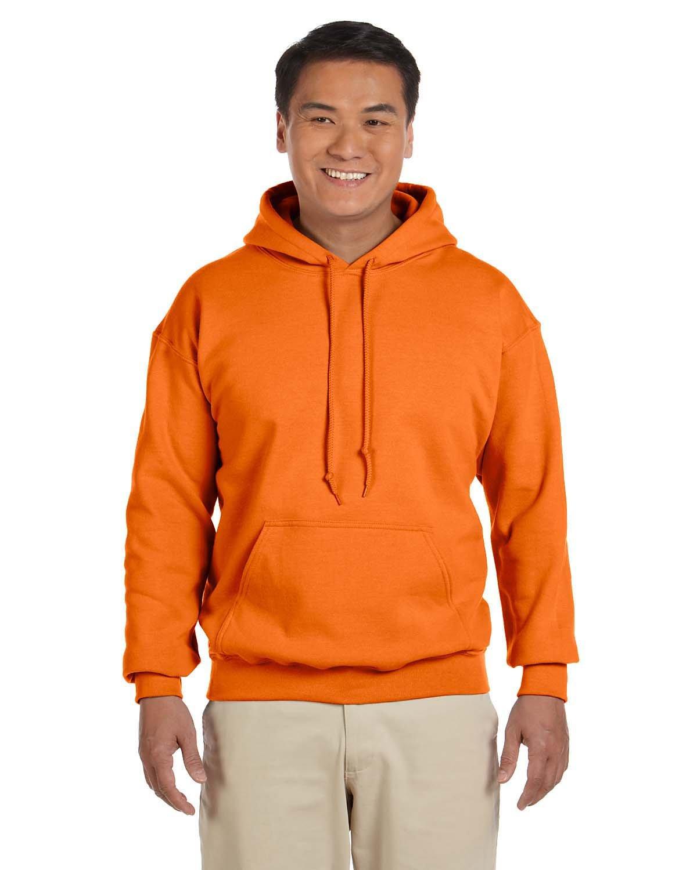 Gildan Adult Heavy Blend™ 50/50 Hooded Sweatshirt S ORANGE