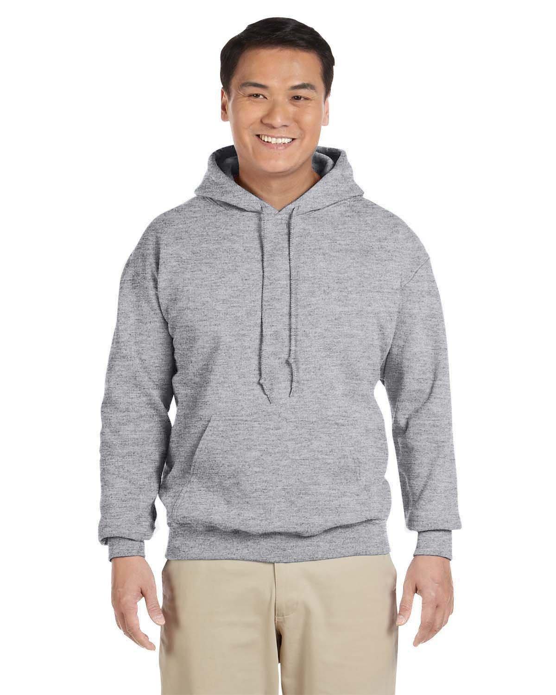 Gildan Adult Heavy Blend™ 50/50 Hooded Sweatshirt GRAPHITE HEATHER