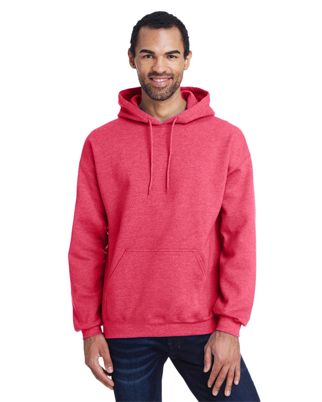Gildan Adult Heavy Blend™ 50/50 Hooded Sweatshirt HTH SPT SCRLT RD