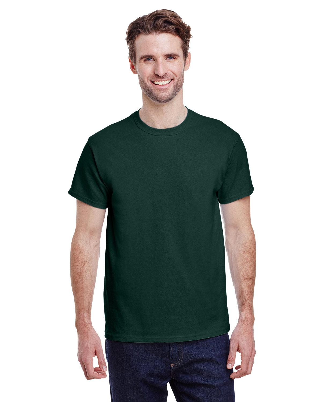 Gildan Adult Ultra Cotton® T-Shirt FOREST GREEN