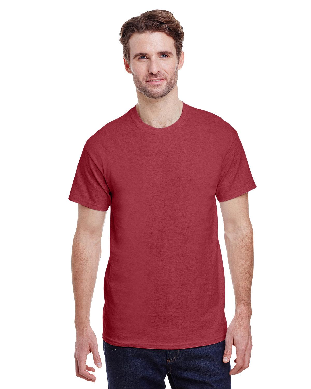 Gildan Adult Ultra Cotton® T-Shirt HEATHER CARDINAL