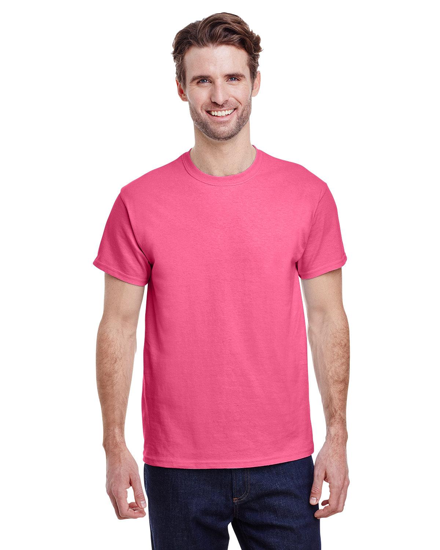 Gildan Adult Ultra Cotton® T-Shirt SAFETY PINK