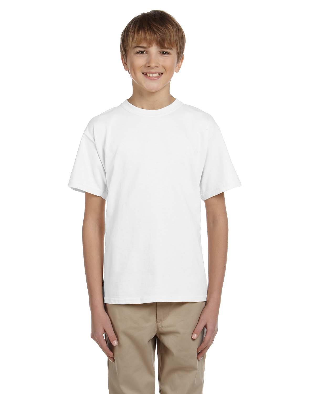 Gildan Youth Ultra Cotton® T-Shirt WHITE