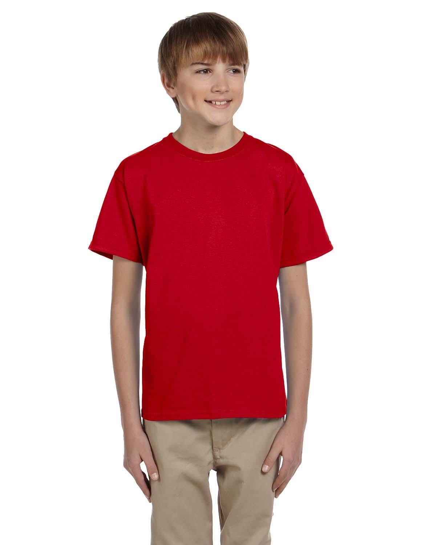 Gildan Youth Ultra Cotton® T-Shirt CHERRY RED
