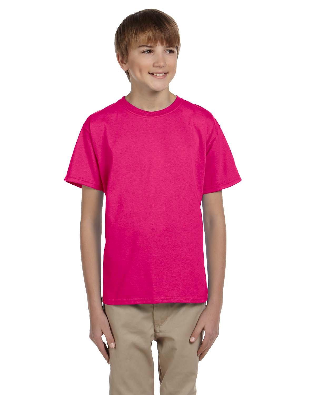 Gildan Youth Ultra Cotton® T-Shirt HELICONIA