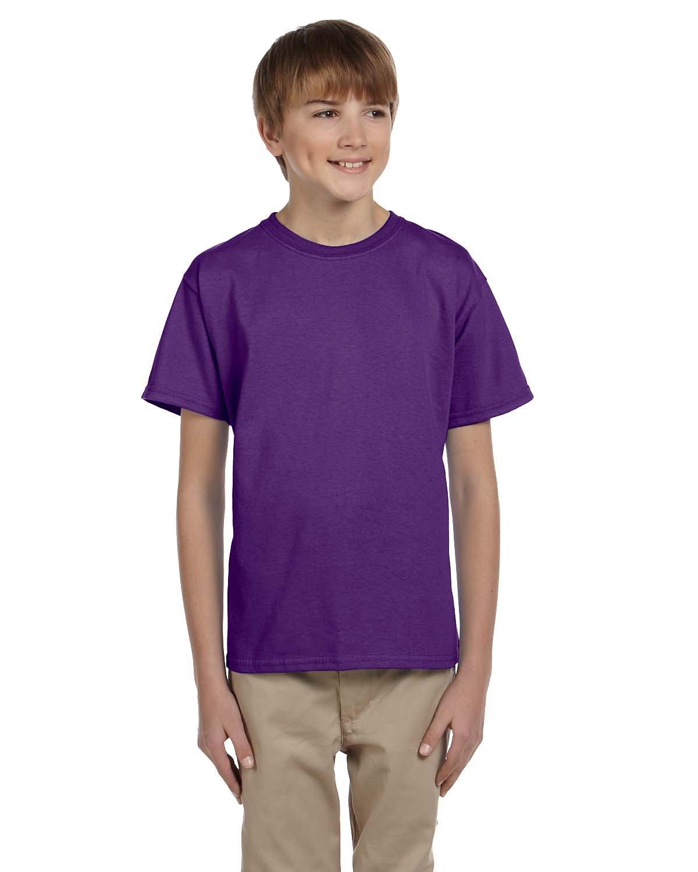 Gildan Youth Ultra Cotton® T-Shirt PURPLE