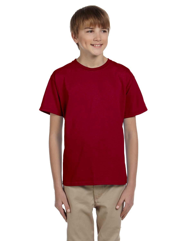 Gildan Youth Ultra Cotton® T-Shirt CARDINAL RED