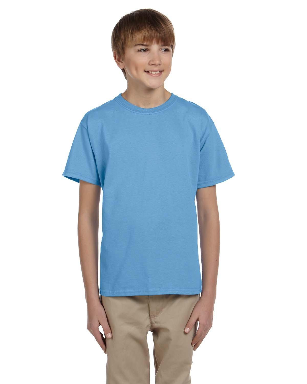 Gildan Youth Ultra Cotton® T-Shirt CAROLINA BLUE