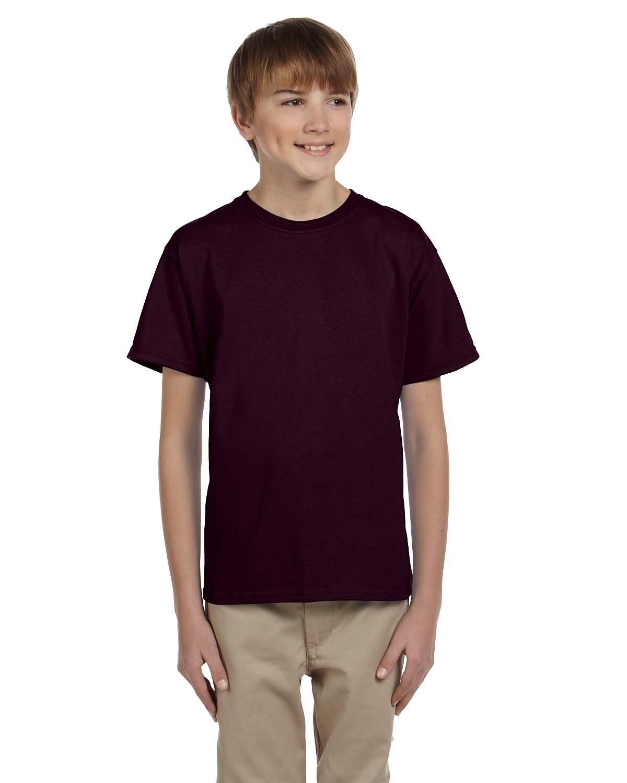 Gildan Youth Ultra Cotton® T-Shirt DARK CHOCOLATE