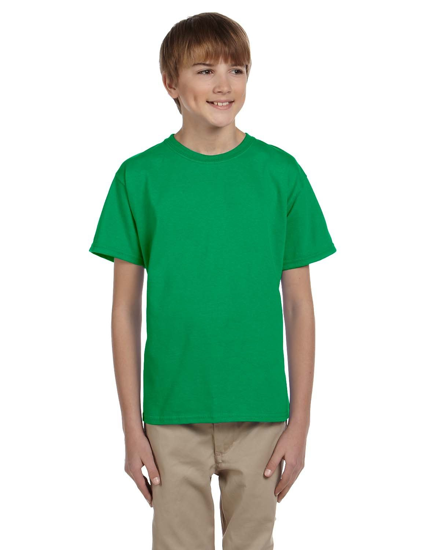Gildan Youth Ultra Cotton® T-Shirt IRISH GREEN