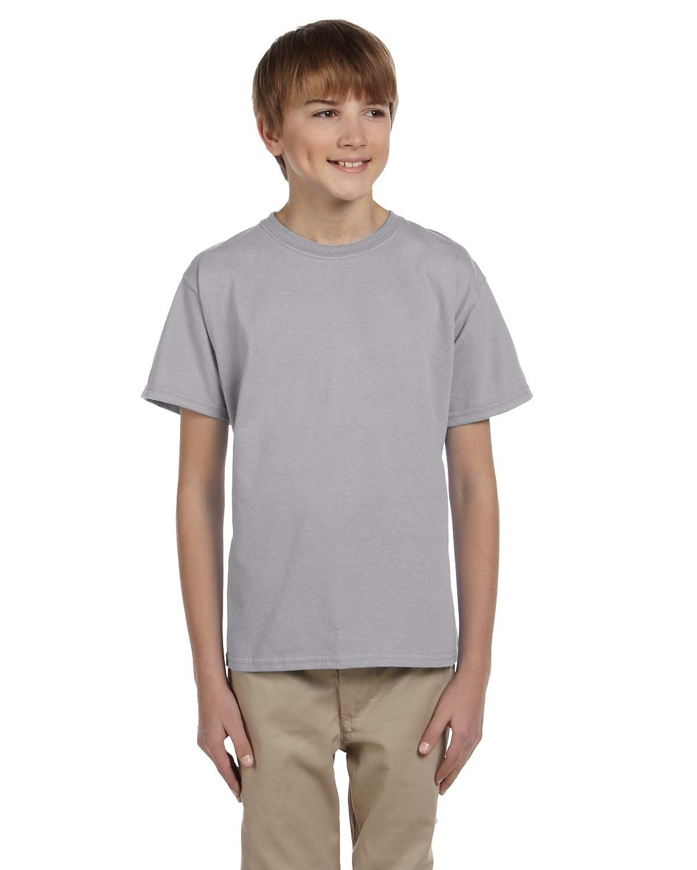 Gildan Youth Ultra Cotton® T-Shirt SPORT GREY