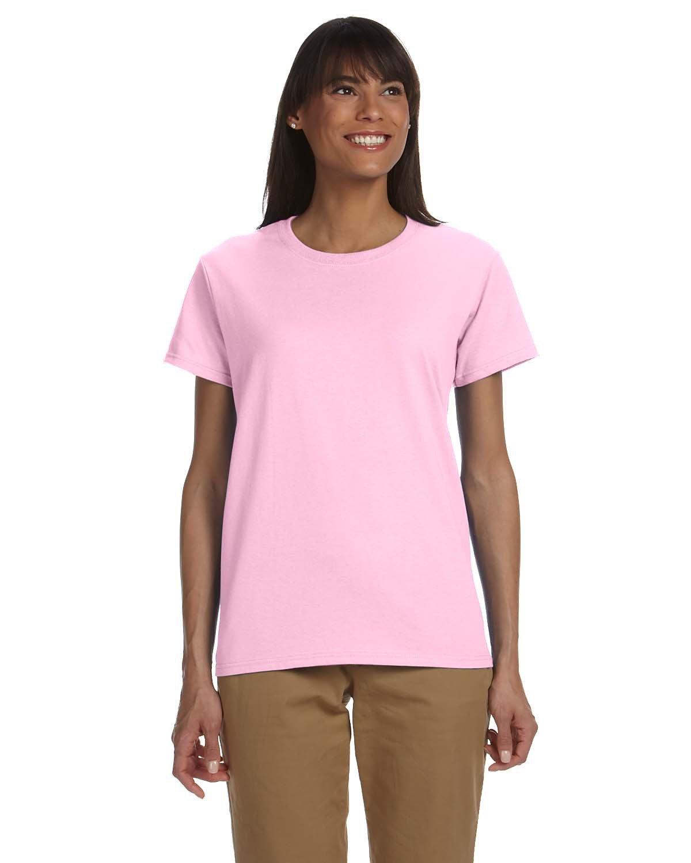 Gildan Ladies' Ultra Cotton® T-Shirt LIGHT PINK