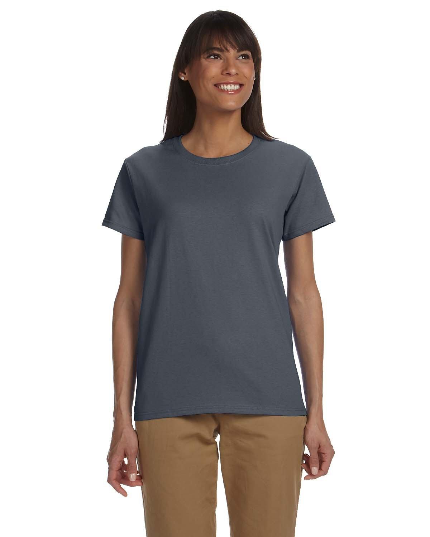 Gildan Ladies' Ultra Cotton® T-Shirt CHARCOAL