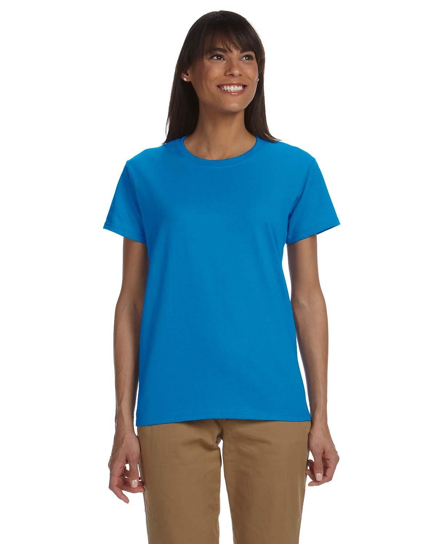 Gildan Ladies' Ultra Cotton® T-Shirt SAPPHIRE
