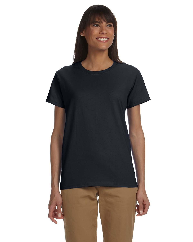 Gildan Ladies' Ultra Cotton® T-Shirt BLACK