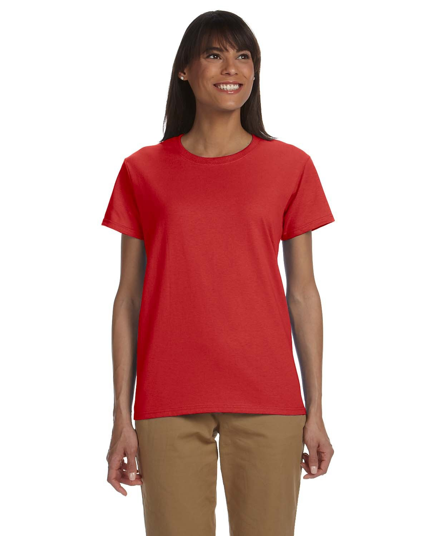 Gildan Ladies' Ultra Cotton® T-Shirt RED