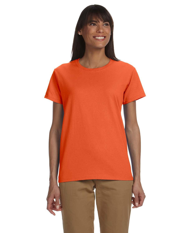 Gildan Ladies' Ultra Cotton® T-Shirt ORANGE