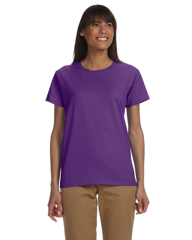 Gildan Ladies' Ultra Cotton® T-Shirt PURPLE