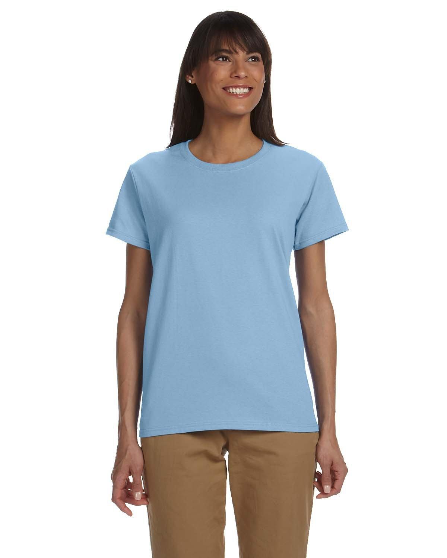 Gildan Ladies' Ultra Cotton® T-Shirt LIGHT BLUE