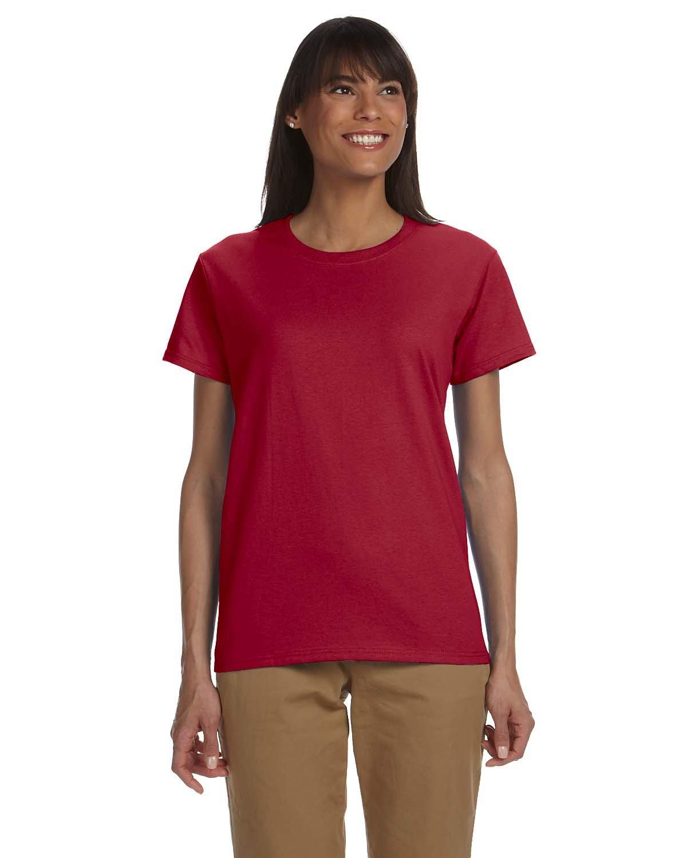 Gildan Ladies' Ultra Cotton® T-Shirt CARDINAL RED