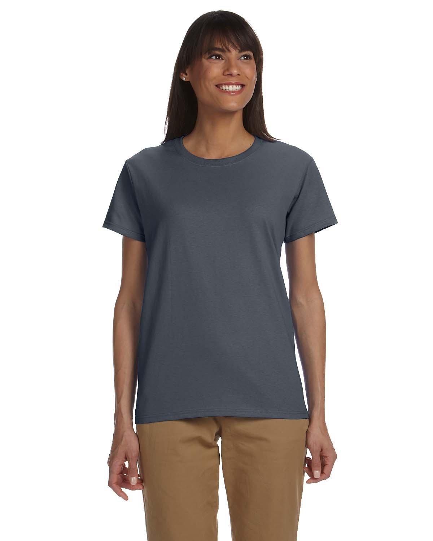 Gildan Ladies' Ultra Cotton® T-Shirt DARK HEATHER