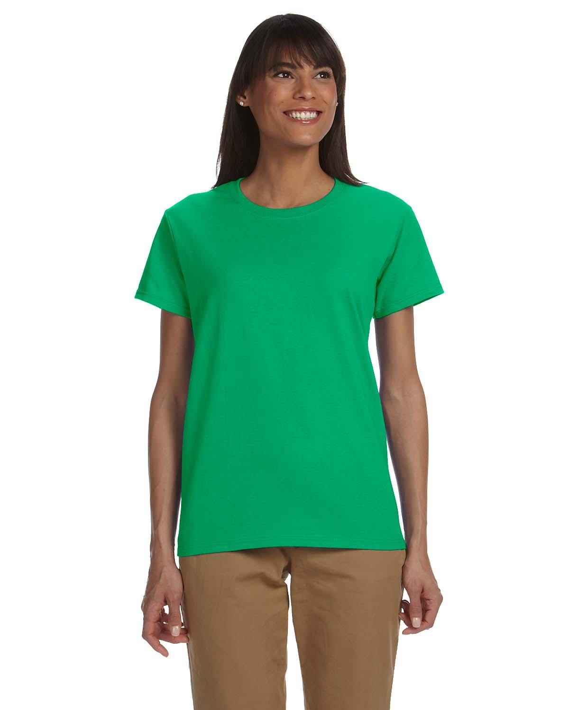 Gildan Ladies' Ultra Cotton® T-Shirt IRISH GREEN