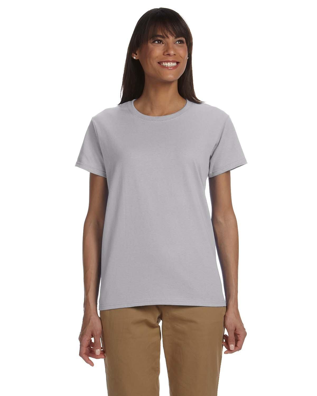 Gildan Ladies' Ultra Cotton® T-Shirt SPORT GREY