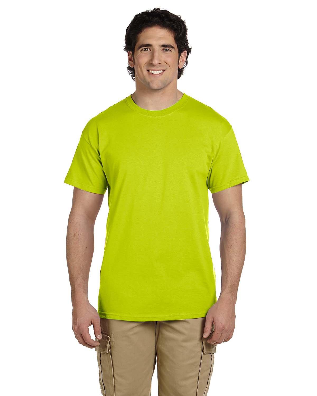Gildan Adult Ultra Cotton® Tall T-Shirt SAFETY GREEN