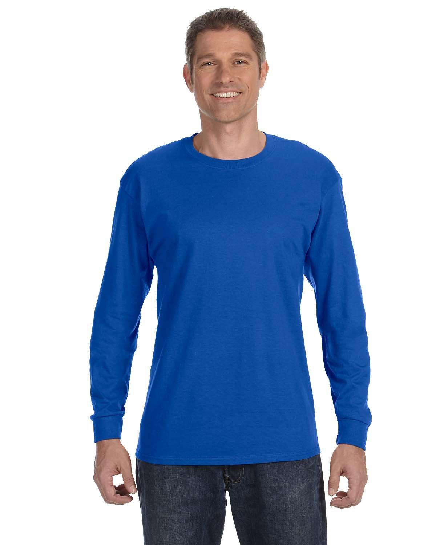 Gildan Adult Heavy Cotton™ Long-Sleeve T-Shirt ROYAL