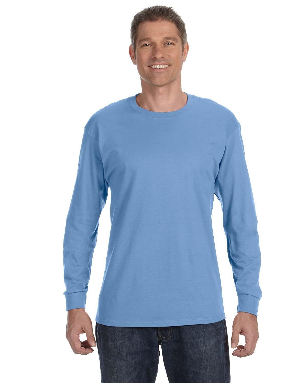 Gildan Adult Heavy Cotton™ Long-Sleeve T-Shirt CAROLINA BLUE