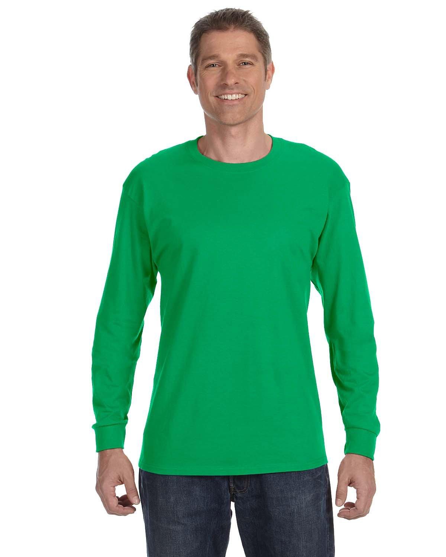 Gildan Adult Heavy Cotton™ Long-Sleeve T-Shirt IRISH GREEN