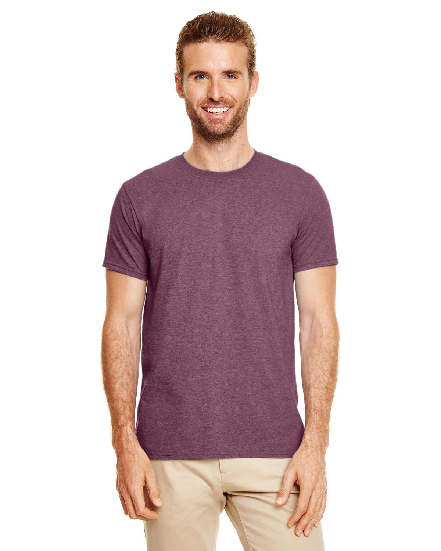 Gildan Adult Softstyle® T-Shirt HEATHER MAROON