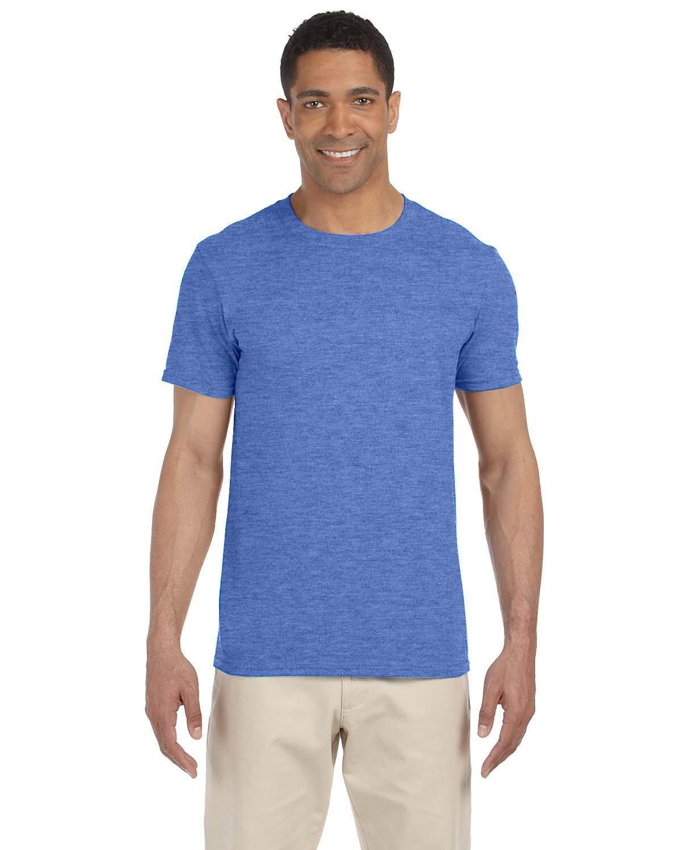 Gildan Adult Softstyle® T-Shirt HEATHER ROYAL