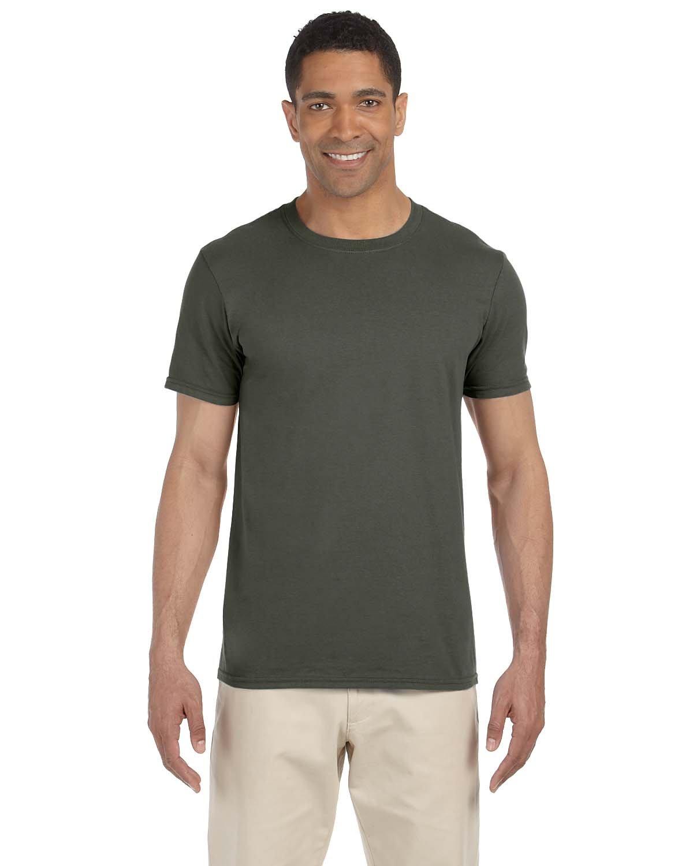 Gildan Adult Softstyle® T-Shirt MILITARY GREEN