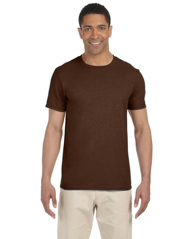 Gildan Adult Softstyle® T-Shirt DARK CHOCOLATE