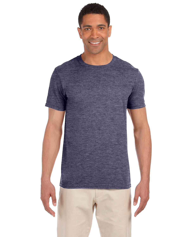 Gildan Adult Softstyle® T-Shirt HEATHER NAVY