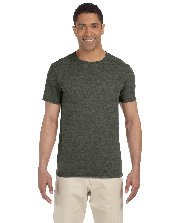Gildan Adult Softstyle® T-Shirt HTH MILITARY GRN