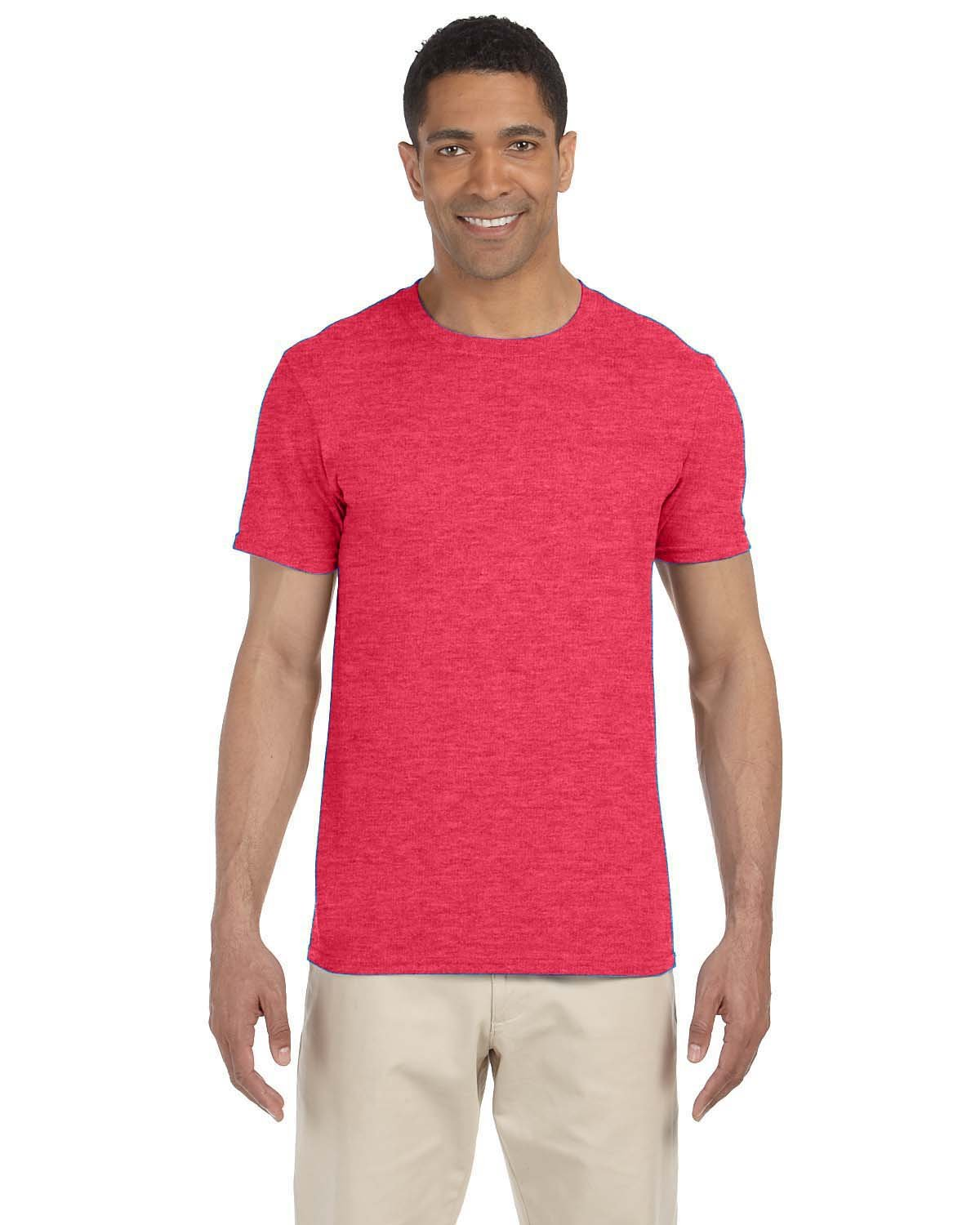 Gildan Adult Softstyle® T-Shirt HEATHER RED