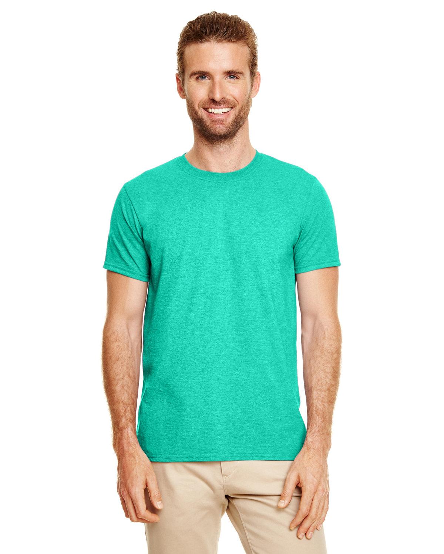 Gildan Adult Softstyle® T-Shirt HEATHER SEAFOAM