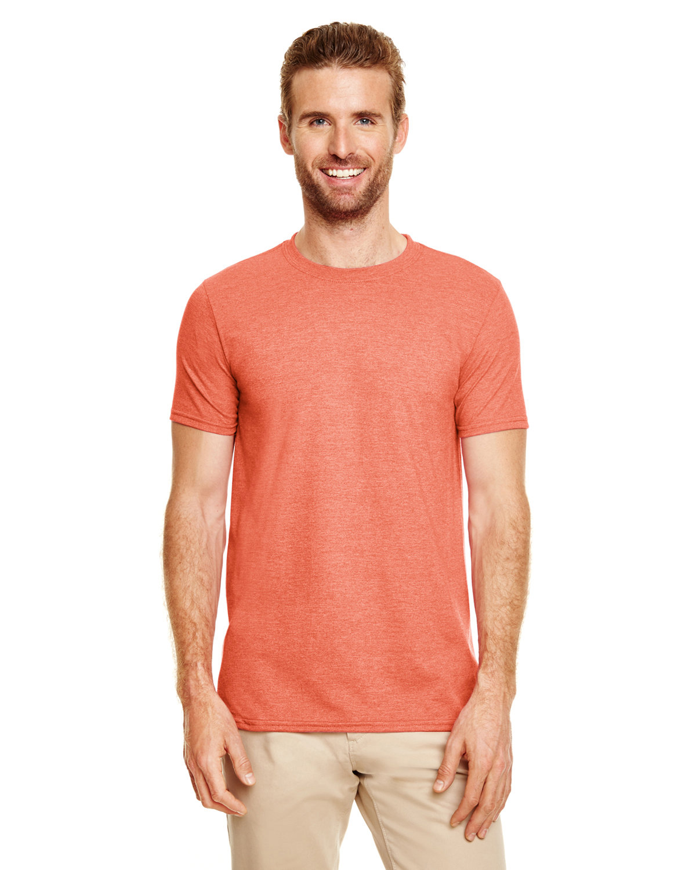 Gildan Adult Softstyle® T-Shirt HEATHER ORANGE