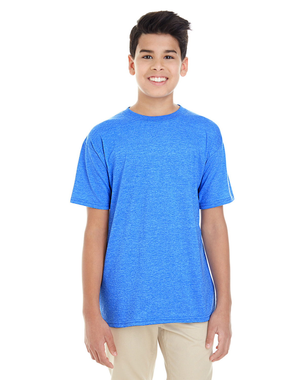 Gildan Youth Softstyle® T-Shirt HEATHER ROYAL