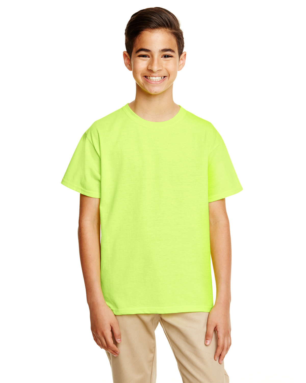 Gildan Youth Softstyle® T-Shirt SAFETY GREEN