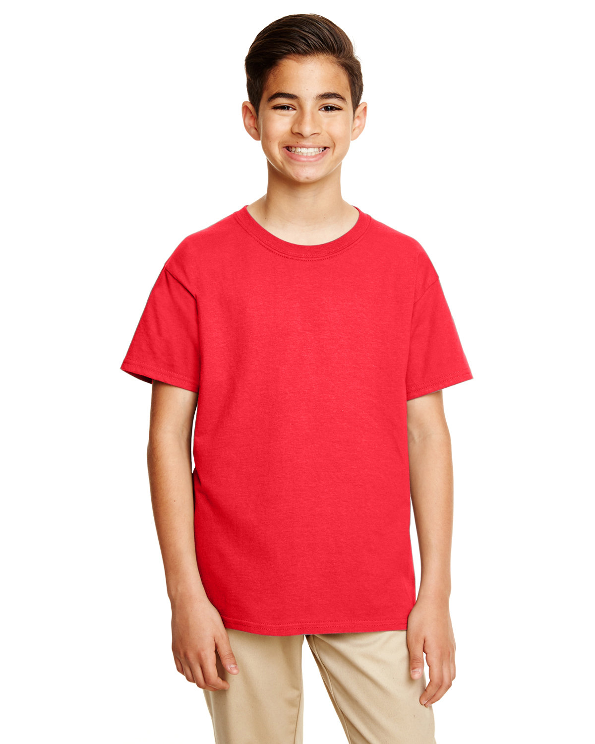 Gildan Youth Softstyle® T-Shirt RED