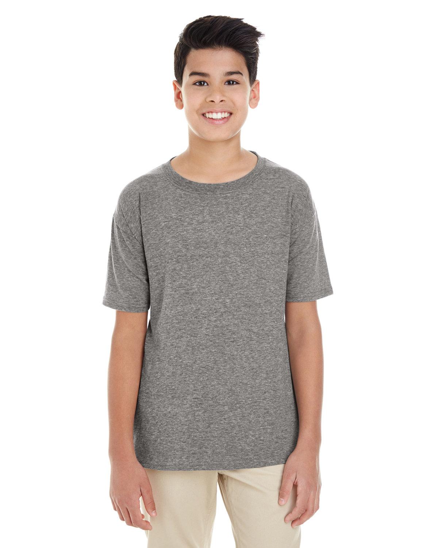 Gildan Youth Softstyle® T-Shirt GRAPHITE HEATHER