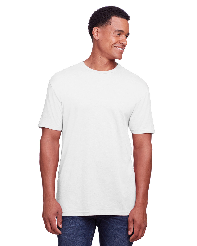 Gildan Men's Softstyle CVC T-Shirt WHITE