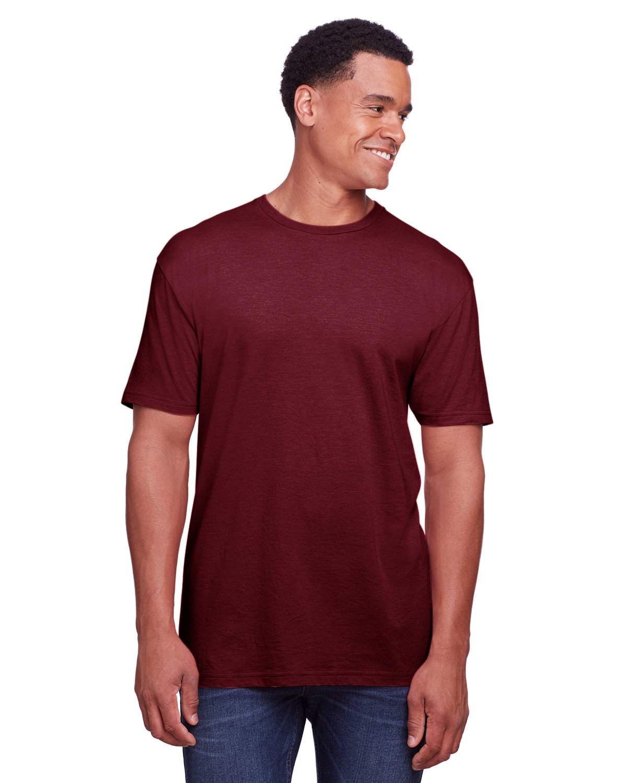 Gildan Men's Softstyle CVC T-Shirt MAROON MIST