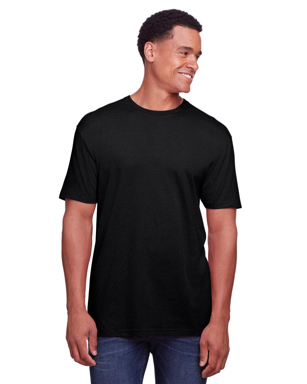 Gildan Men's Softstyle CVC T-Shirt PITCH BLACK