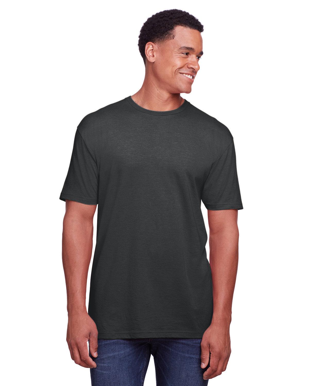 Gildan Men's Softstyle CVC T-Shirt PITCH BLACK MIST