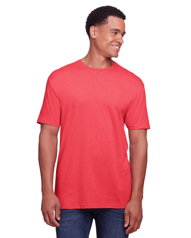 Gildan Men's Softstyle CVC T-Shirt RED MIST