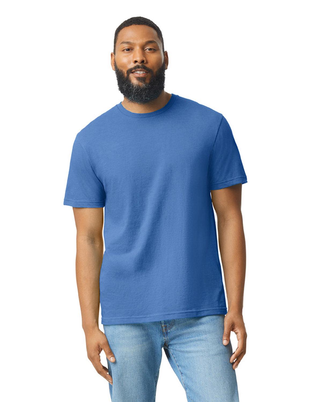 Gildan Men's Softstyle CVC T-Shirt ROYAL MIST